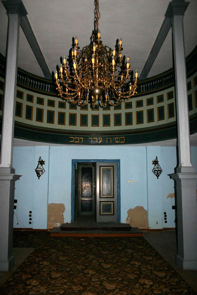 Radzanów_synagoga_wnętrze