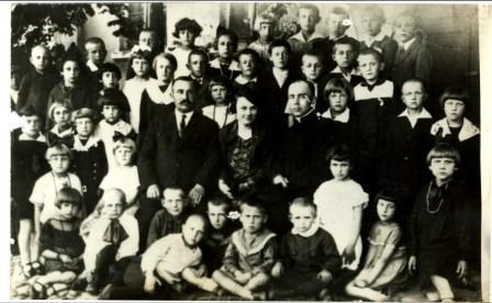 Szkoła Radzanów lata 20